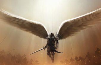 Diablo 3 Tyrael Archangel Of Justice 8y Wallpaper 640 x 960 340x220