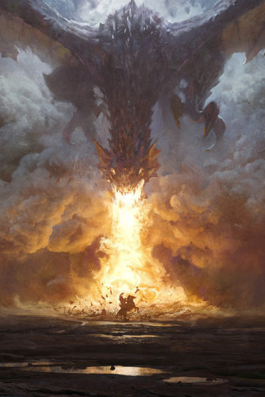 Dragons Fire 05 Wallpaper 640 x 960 380x570