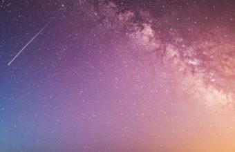 Falling Universe Galaxy Beautiful Light Leaks B1 Wallpaper 640 x 960 340x220