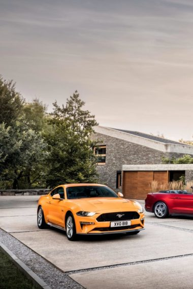 Ford Mustang Gt Fastback And Ecoboost Convertible Xj Wallpaper 640 x 960 380x570