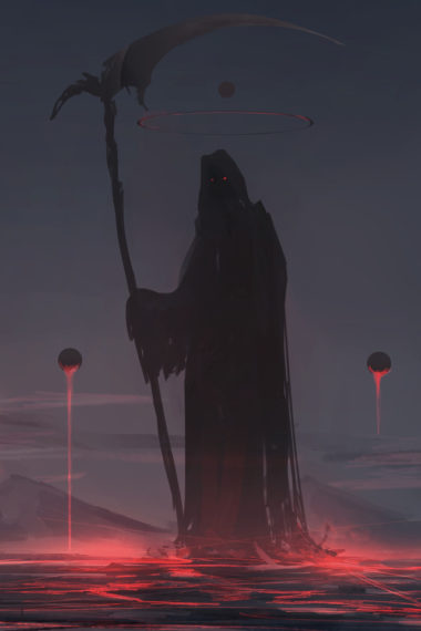 Grim Reaper Lt Wallpaper 640 x 960 380x570