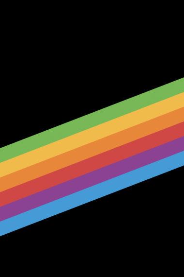 Ios 11 Heritage Stripe Black 4v Wallpaper 640 x 960 380x570
