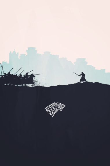 Jon Snow Minimalism New Wallpaper 640 x 960 380x570