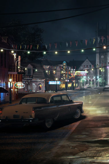 Mafia 3 Artwork Um Wallpaper 640 x 960 380x570