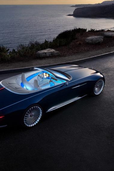 Mercedes Maybach 6 Cabriolet Ak Wallpaper 640 x 960 380x570