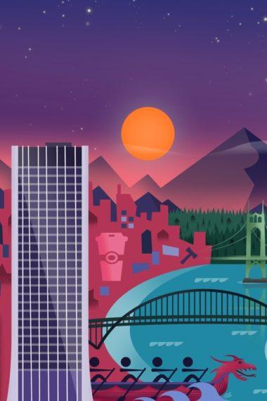 Minimalism City Z9 Wallpaper 640 x 960 380x570