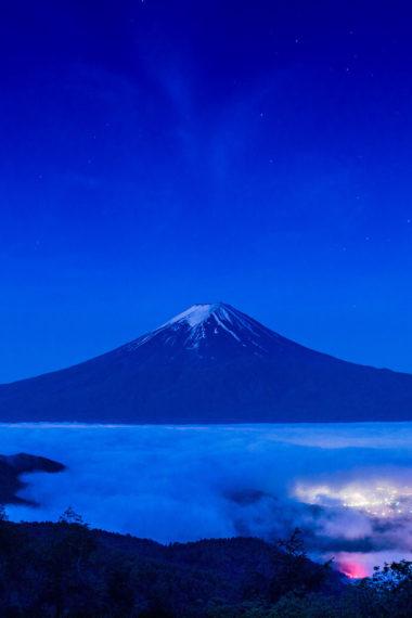 Mount Fuji Beautiful Shot Us Wallpaper 640 x 960 380x570