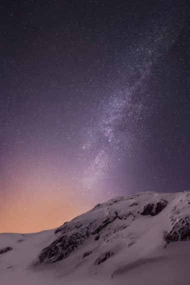 Mountains And Stars Vv Wallpaper 640 x 960 380x570