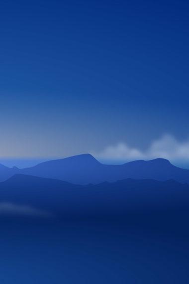 Mountains Minimalism L2 Wallpaper 640 x 960 380x570