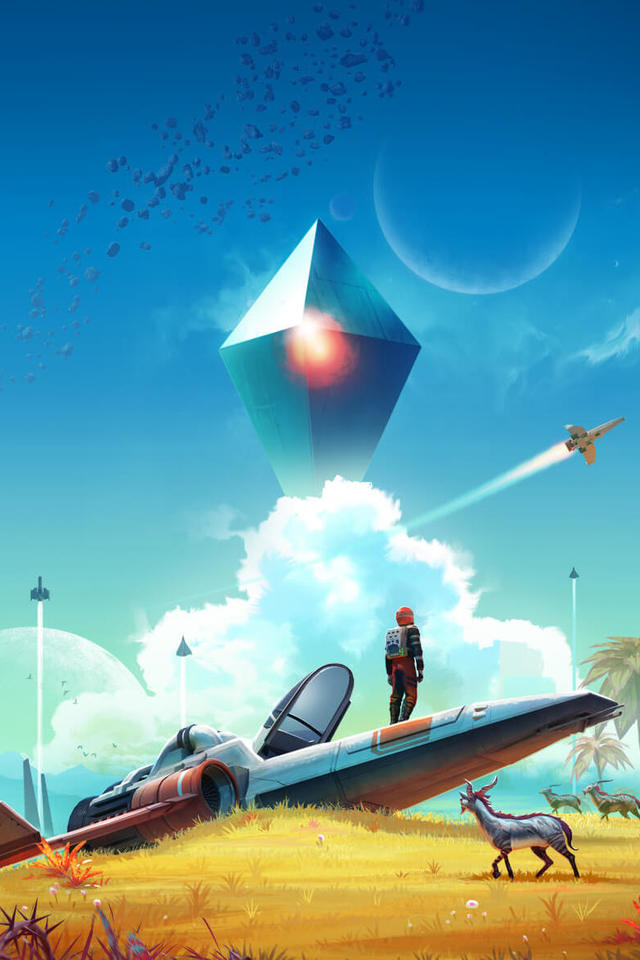 No Mans Sky Video Game 2p Wallpaper 640 X 960