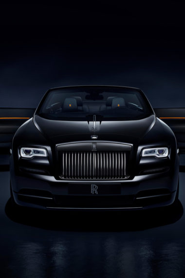 Rolls Royce Dawn Black Badge Zk Wallpaper 640 x 960 380x570
