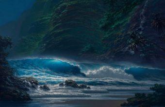 Seascape Wallpaper 46 1920x1300 340x220