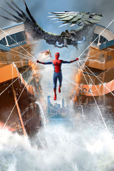 Spiderman Homecoming Xd Wallpaper 640 x 960 380x570