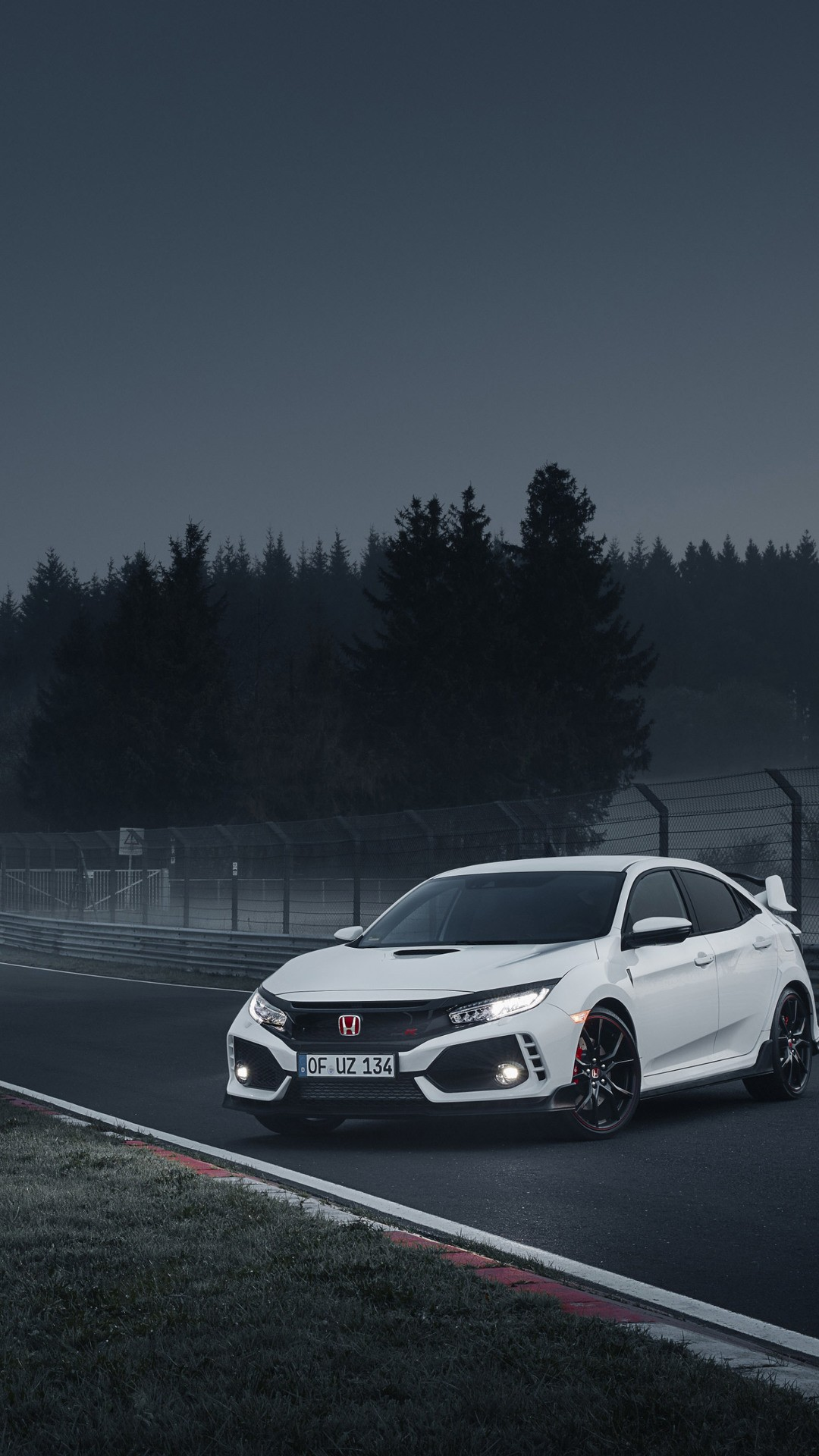 2018 Honda Civic Type R On Wallpaper 1080x1920 380x676