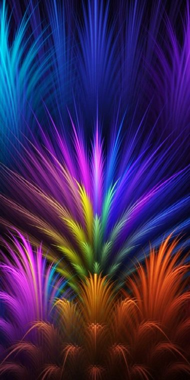 Abstract Colors Wallpaper 1080x2160 380x760