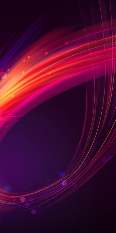 Abstract Wave Wallpaper 1080x2160 380x760