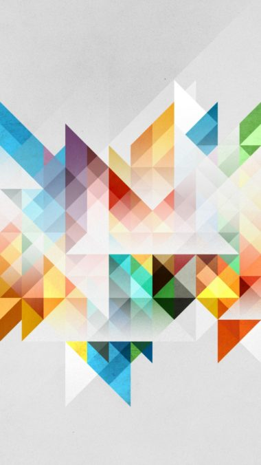 Abstraction Geometry Shapes Colors 380x676