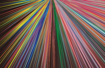 Abstraction Lines Rays Bright Colorful Wallpaper 2160x3840 340x220