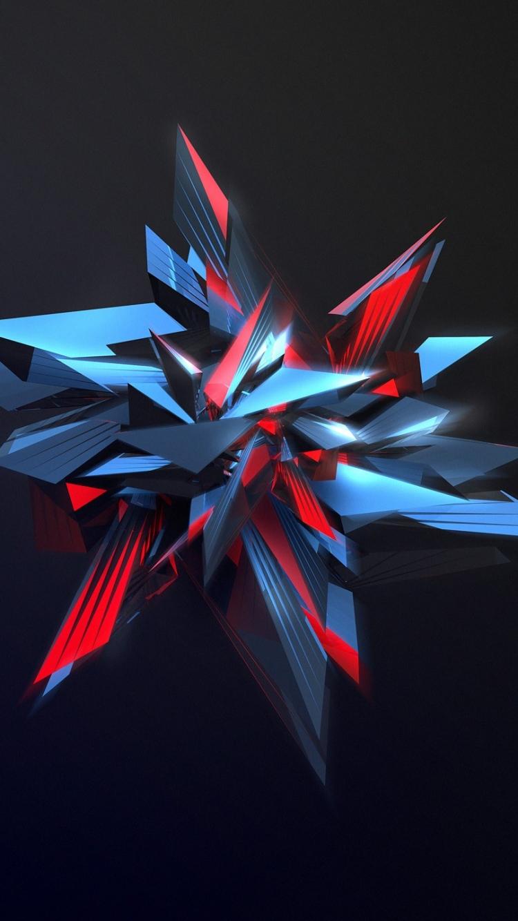 Abstraction Sharp Figure