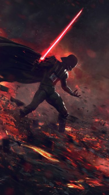 Ahsoka Tano Vs Darth Vader Image Wallpaper 1080x1920 380x676