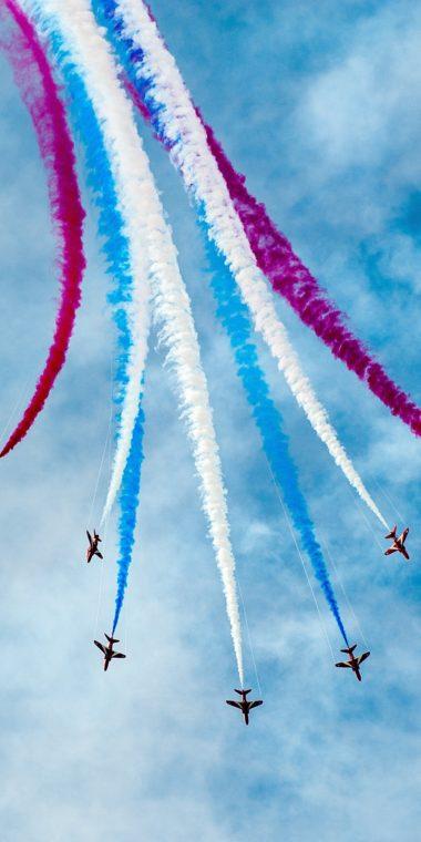 Air Show Wallpaper 1080x2160 380x760