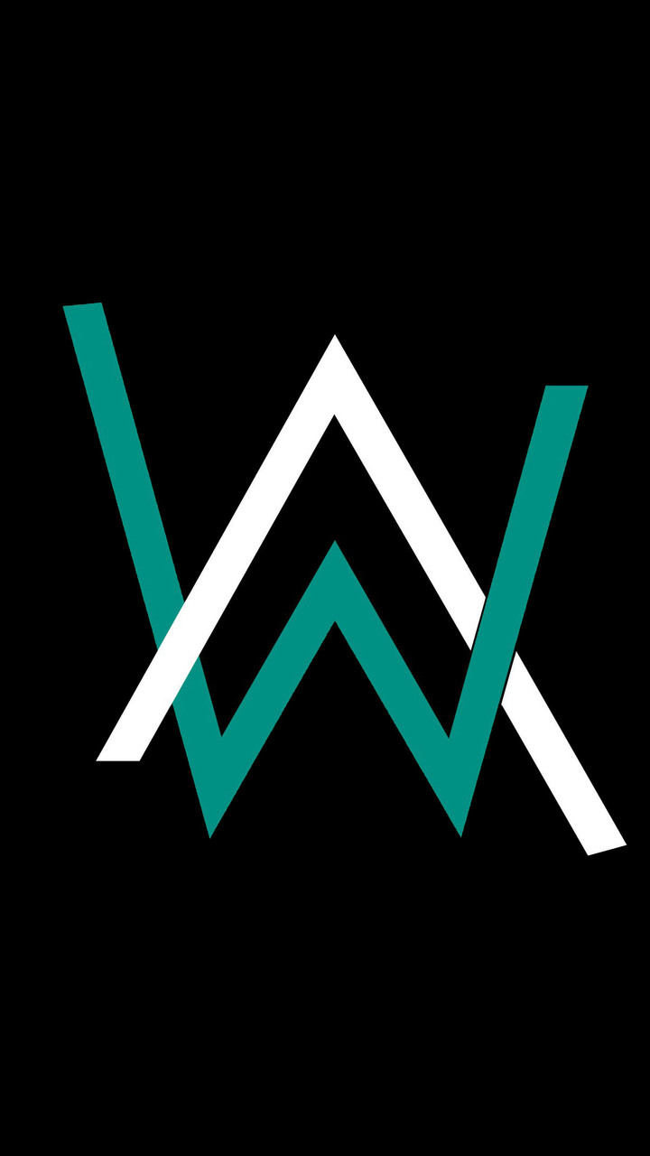 Alan Walker Logo Qhd Wallpaper 720x1280