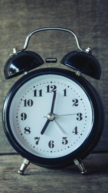 Alarm Clock Clock Dial Wallpaper 720x1280 380x676