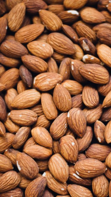 Almonds Nuts Core Wallpaper 2160x3840 380x676
