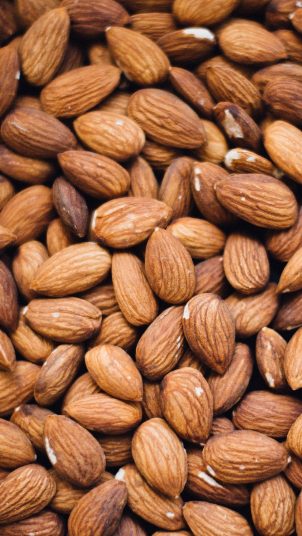 Almonds Nuts Core Wallpaper 2160x3840 768x1365