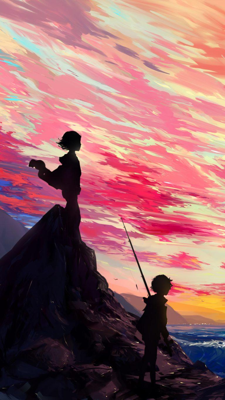 Anime Art Zq Wallpaper 2160x3840 768x1365