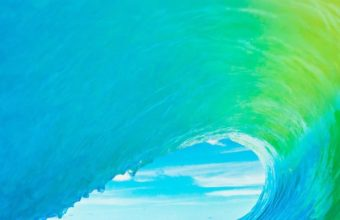 Apple Ios9 Official Apple Wave Wallpaper 720x1280 340x220