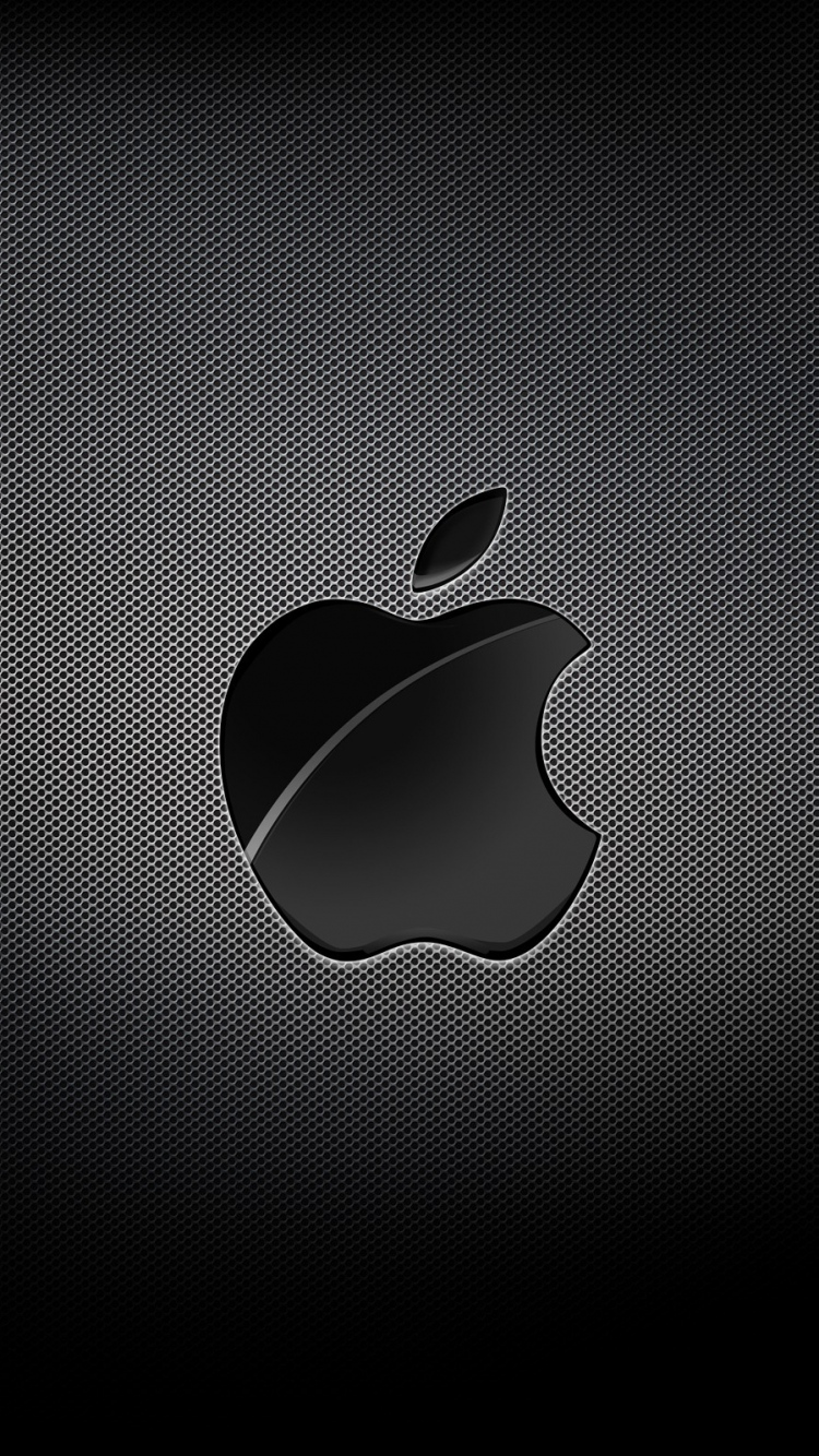 Apple Mac Brand Logo Dark Light Shadow