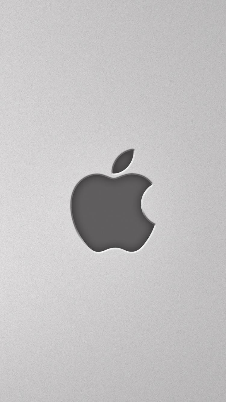 Apple Mac Gray Background