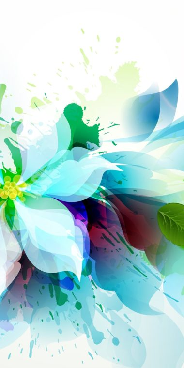 Artistic Flower Wallpaper 1080x2160 380x760