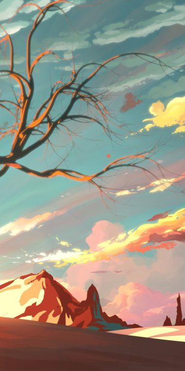 Artistic Landscape Wallpaper 1080x2160 380x760
