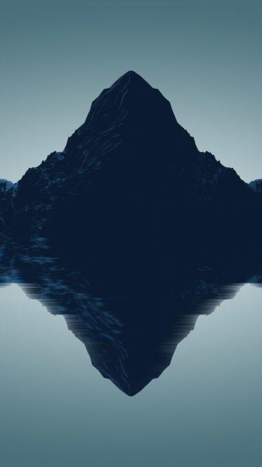 Artistic Mountains Qu Wallpaper 1080x1920 380x676