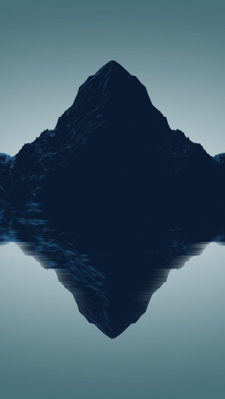 Artistic Mountains Qu Wallpaper 1080x1920 768x1365