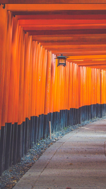 Asian Architecture Hallway 64 Wallpaper 2160x3840 768x1365