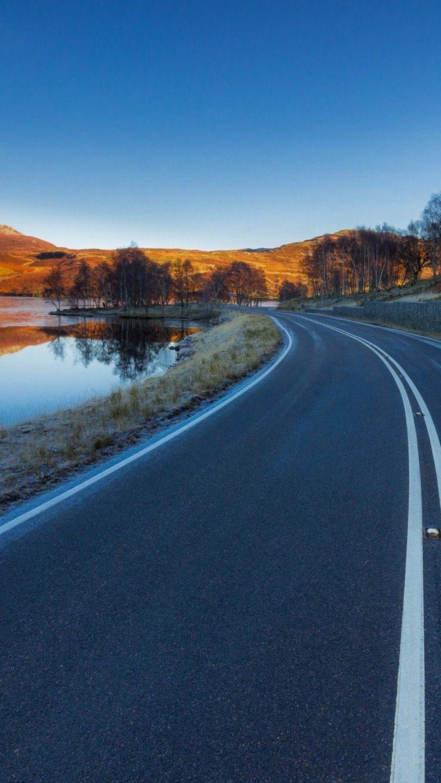 Asphalt Road Landscape 4m Wallpaper 1080x1920 768x1365