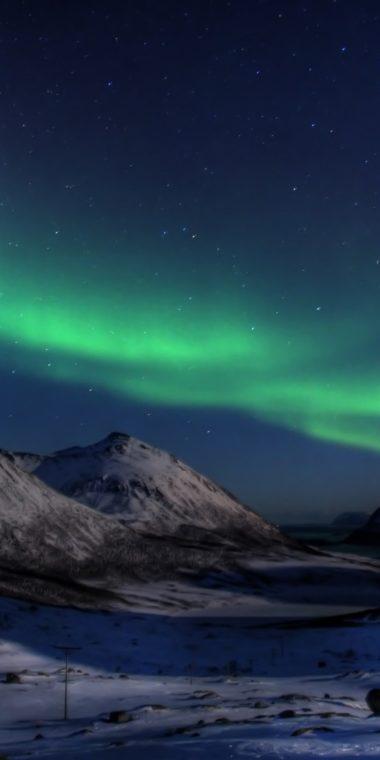 Aurora Borealis Wallpaper 1080x2160 380x760