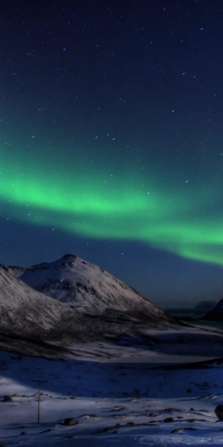 Aurora Borealis Wallpaper 1080x2160 768x1536