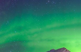 Aurora Borealis Winter Wallpaper 1080x2160 340x220