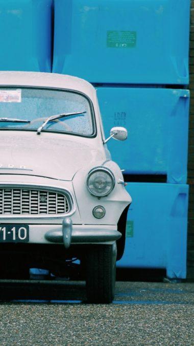 Auto Retro Front View Wallpaper 720x1280 380x676