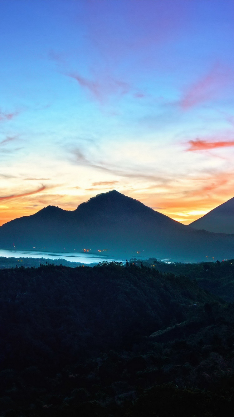 Bali Sunrise Kintamani Indonesia