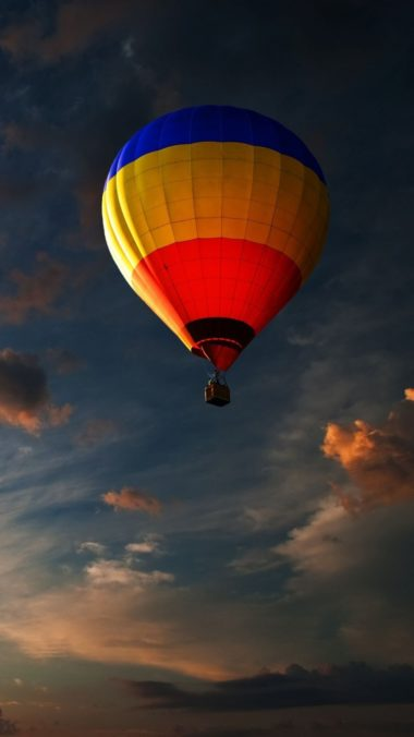 Balloon Sky Clouds Flight 380x676