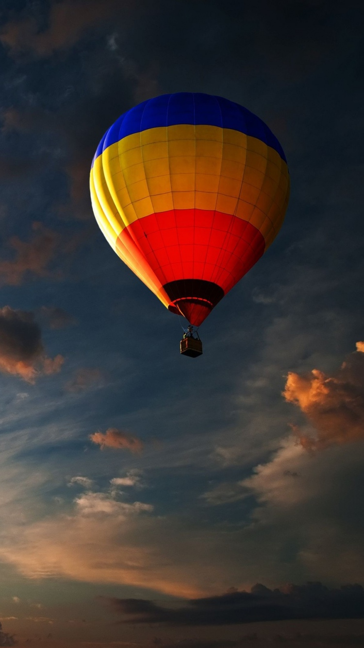 Balloon Sky Clouds Flight