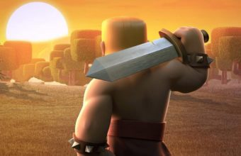 Barbarians Clash Of Clans Wide Wallpaper 1080x1920 340x220