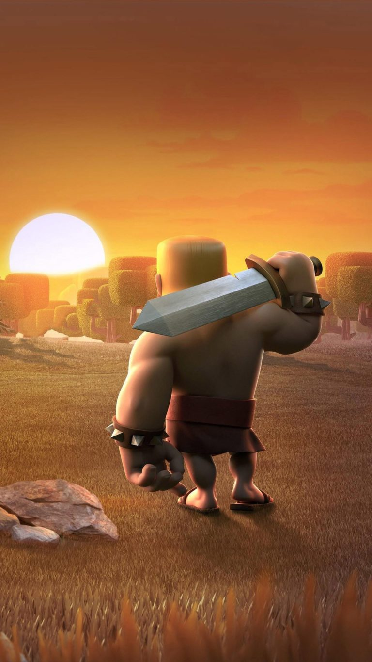 Barbarians Clash Of Clans Wide Wallpaper 1080x1920 768x1365