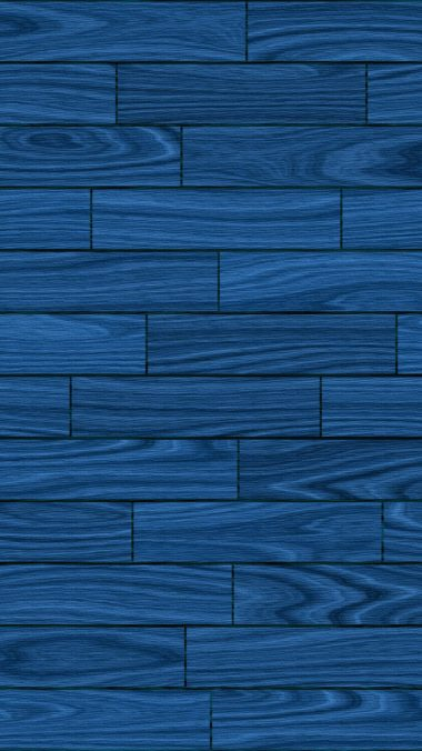 Basic Blue Wooden Wallpaper 1080x1920 380x676