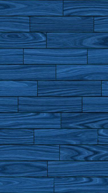 Basic Blue Wooden Wallpaper 1080x1920 380x676